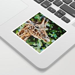 Masai Giraffe Sticker