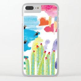 Guajira Desert Clear iPhone Case