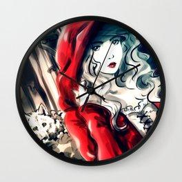 """Monster"" Artwork Wall Clock"