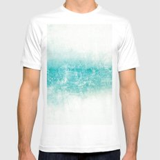 water Mens Fitted Tee MEDIUM White