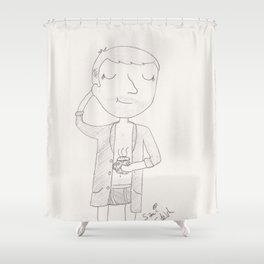 Sunday morning Shower Curtain