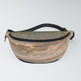 Surface and storms of Planet Jupiter Fanny Pack