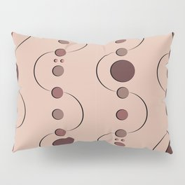 Rosey Dot's Curves Pillow Sham