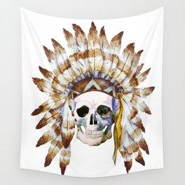 Skull 01 Wall Tapestry