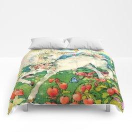 Rainbow Unicorn Garden Comforters