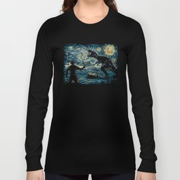 Jurassic Night Long Sleeve T-shirt