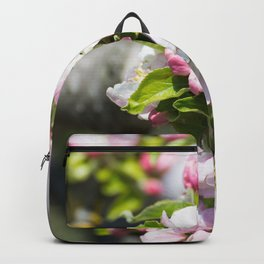 Blooming of the apple tree Backpack