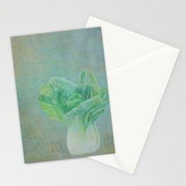 Bok Choy Still Life  Stationery Cards