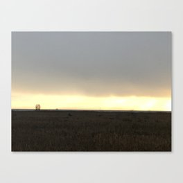 West Dyke Sunset Canvas Print