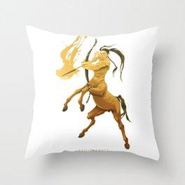 SAGITTARIUS, 9th zodiacal sign. Throw Pillow