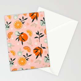 Sweet Summer Citrus Stationery Cards