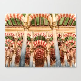 Mezquita de Cordoba - Spain Canvas Print