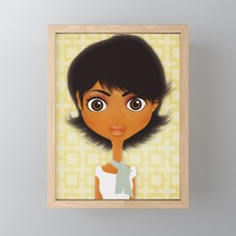 Chloe Framed Mini Art Print