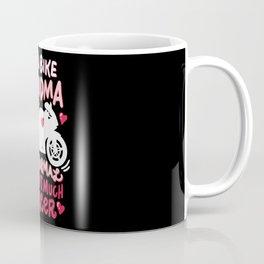 I'm a biker grandma - like a normal except much cooler Coffee Mug