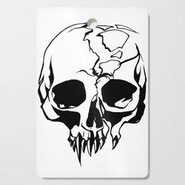 vampire skull Cutting Board