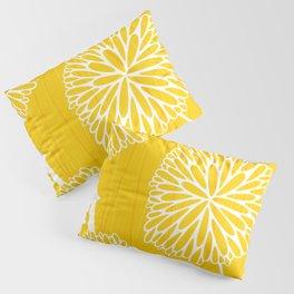 Pom Poms in Yellow by Friztin Pillow Sham