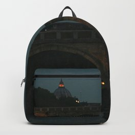 Bridges of Rome in the Evening Backpack