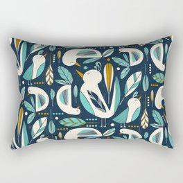 Feathered Flock Rectangular Pillow