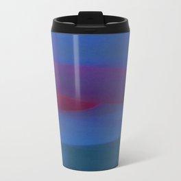 Blue Minimum Metal Travel Mug