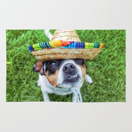Sombrero Smile Rug