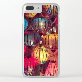 Chinese Lanterns in Vietnam Clear iPhone Case
