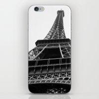 eiffel iPhone & iPod Skins featuring Eiffel by Angel Durán