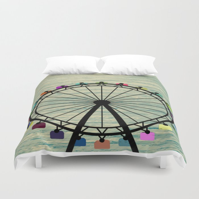 Longing for Summer Duvet Cover