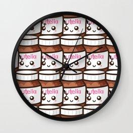 Nutellas! Wall Clock