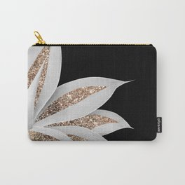 Agave Finesse Glitter Glam #6 #tropical #decor #art #society6 Carry-All Pouch