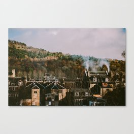 Scottish Rooftops Canvas Print
