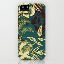 Illustrations of Florals iPhone Case