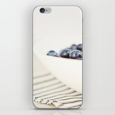 Blueberries in Bowl - Kitchen Art - Food Photography iPhone & iPod Skin