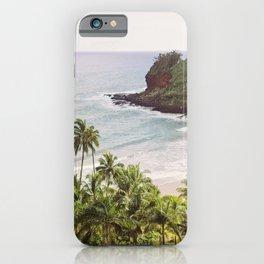 Tropical Paradise - Hawaii Beach Photography iPhone Case
