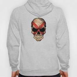 Dark Skull with Flag of Alabama Hoody