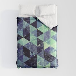 Abstract Geometric Background #6 Comforters
