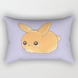 'Bun-y' - Bun Bunny Rabbit Rectangular Pillow