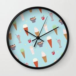 Ice Cream Madness Wall Clock