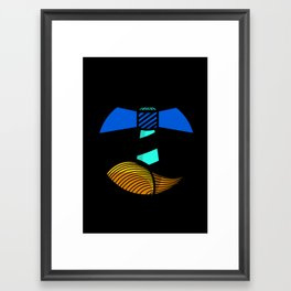 All we need... Is a tide to carry us home. Framed Art Print