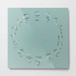 Mathematic's time Metal Print
