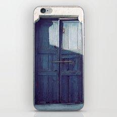 Santorini Door I iPhone & iPod Skin