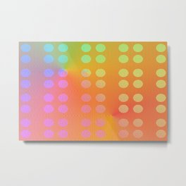3005 Colorful, patternful 2 Metal Print