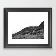 Mountains, Highlands, Scotland. Framed Art Print