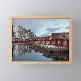 Svolvaer Framed Mini Art Print