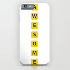Awesome scrabble Slim Case iPhone 6s