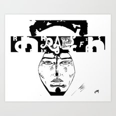 Don D. Rapper Art Print