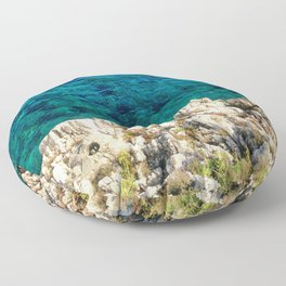 Saturday By The Sea Floor Pillow
