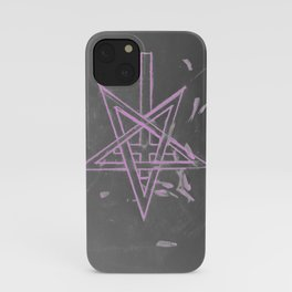 Unholy in Pink Sigil iPhone Case