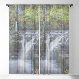 Woodland Falls Sheer Curtain