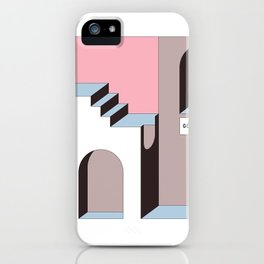 Go Away - At least try. iPhone Case