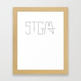 STGMA Logo_Alt.#2 Framed Art Print